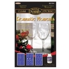 Rub' N' Etch Designer Glass Etching Stencil - Romantic Moments