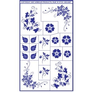 Free Glass Etching Patterns: Design Ideas for Etching Glass